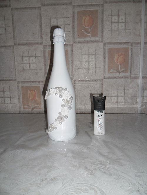 Свадебная бутылка