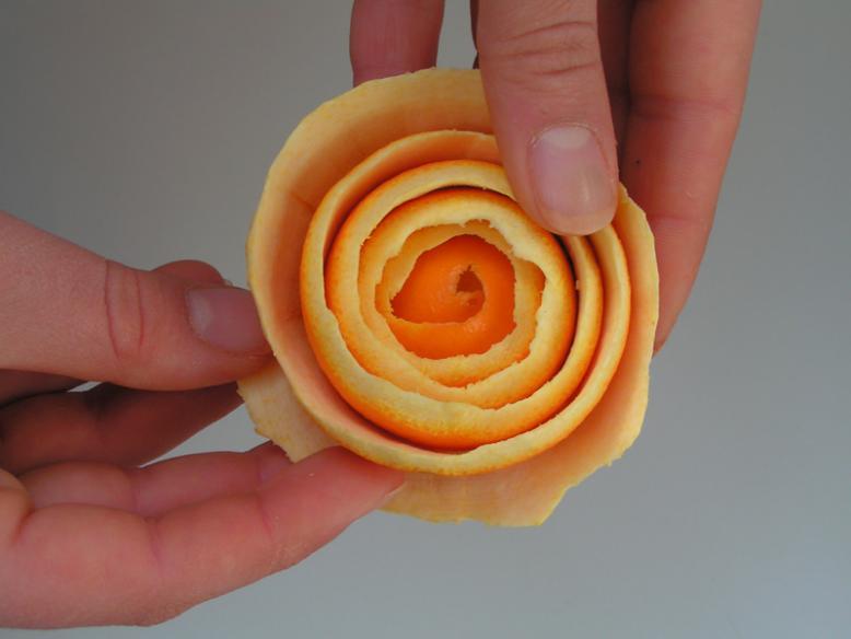 Апельсиновая роза