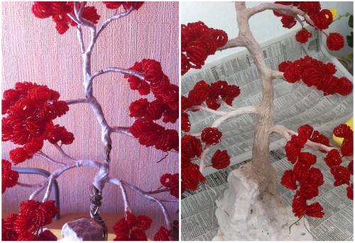 Дерево бисерное