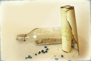 Пиратская бутылка