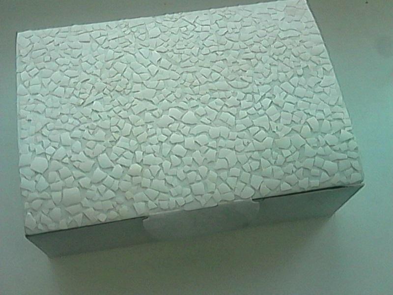 Сундучок из картона