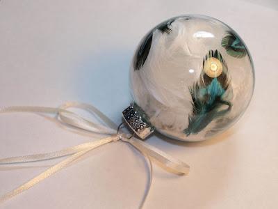 Необычный новогодний шар