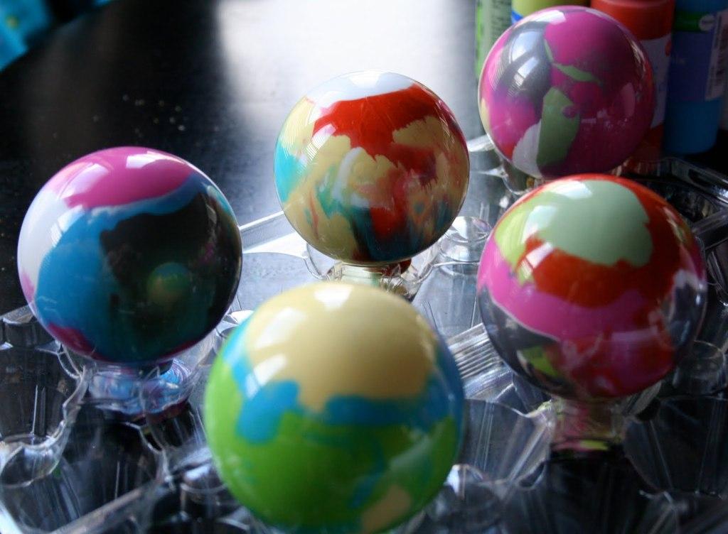 Уникальные новогодние шары
