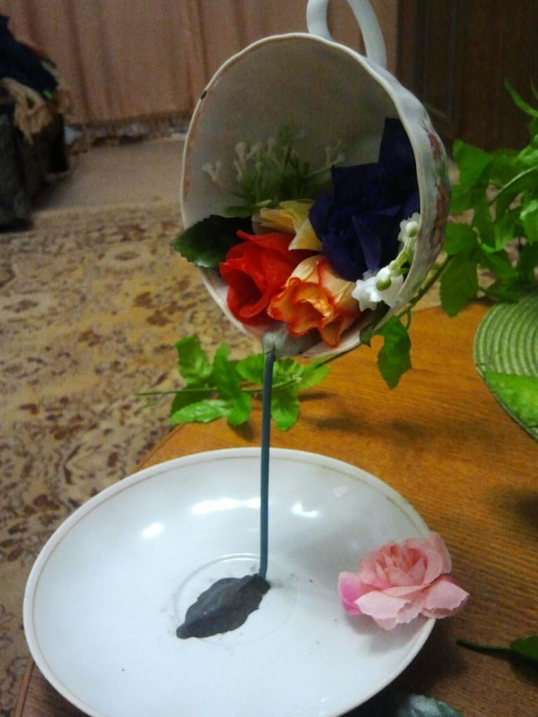 Цветочная чашка