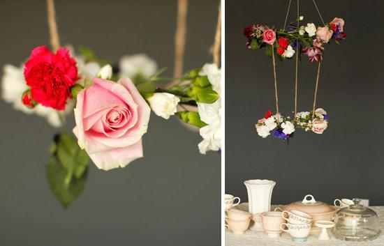 Необыкновенное цветочное украшение
