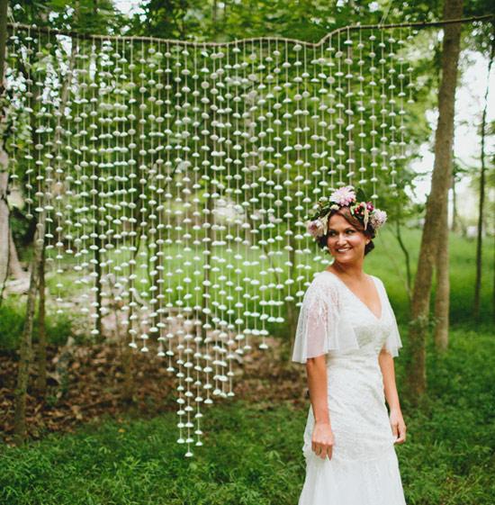 Свадебная гирлянда для фотосессии