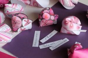Валентинки с предсказаниями