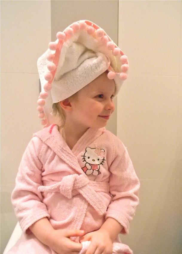 Декор детских полотенец