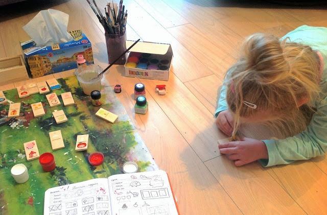 Детское домино для логического мышления