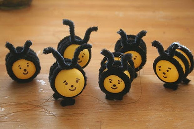 Пчёлки из киндер сюрприза