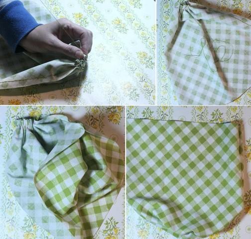 Декоративные тыквы из ткани
