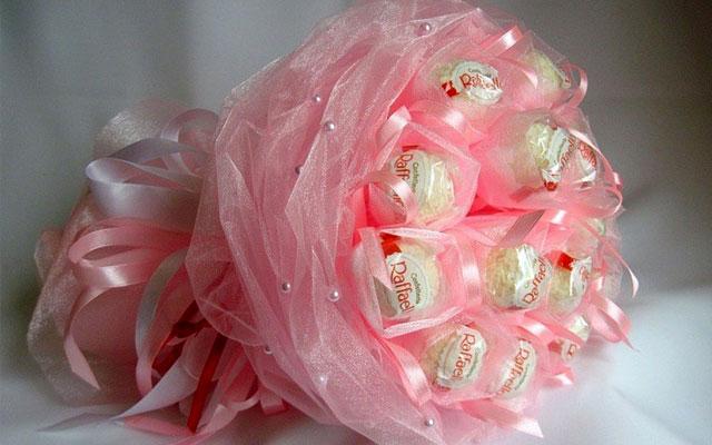Райский конфетный букет