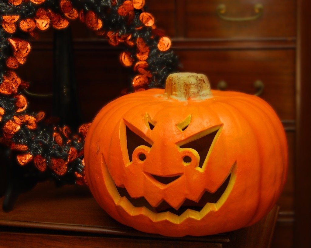 Тыква хэллоуина своими руками