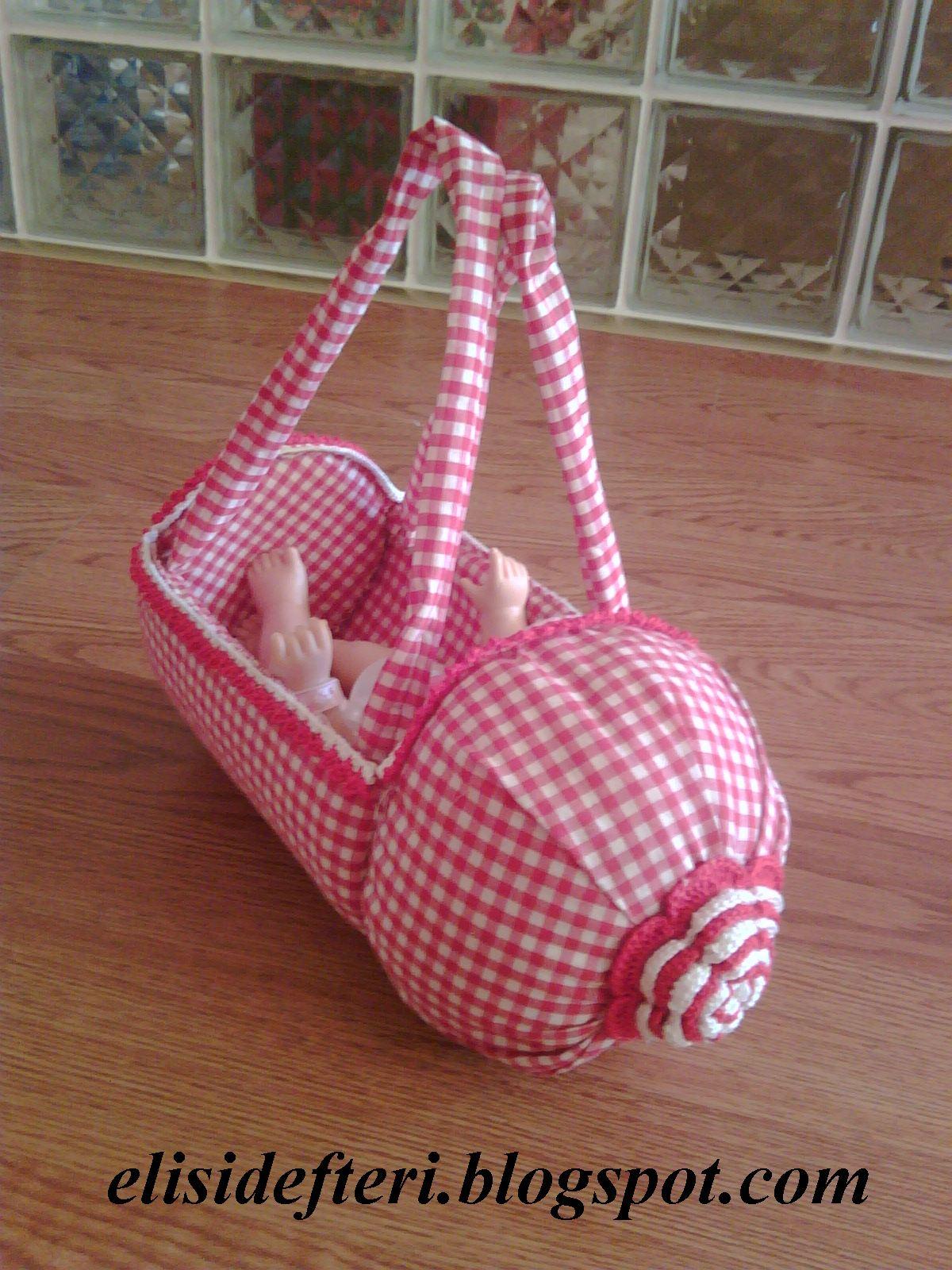 Игрушечная сумочка из пластиковой бутылки