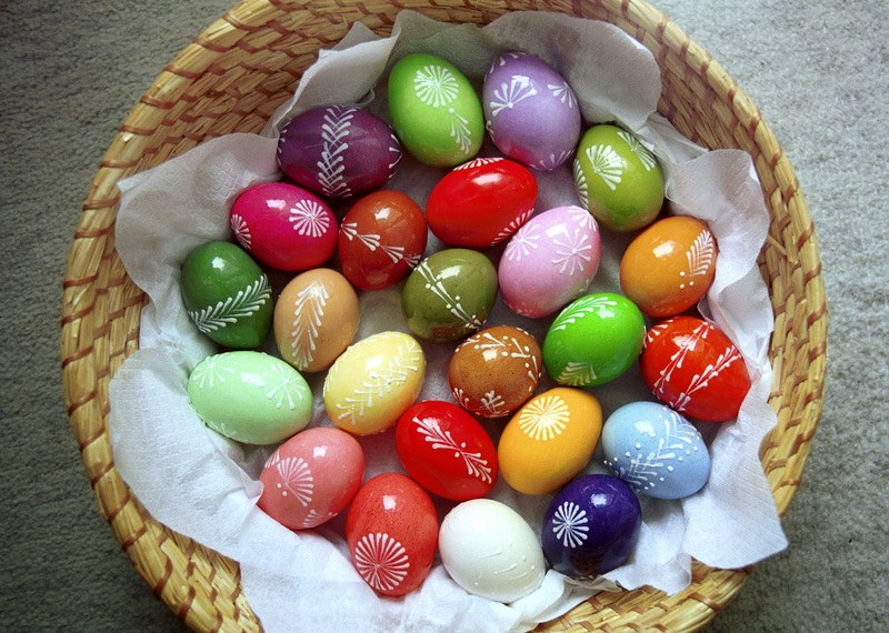 Красители яиц своими руками